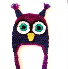 Owl Hat / Sleeping Owl Hat CROCHET PATTERN by SimpleCrochetPattern, $2.99