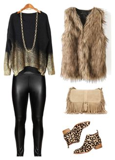 """""""wild me"""" by lea-vehabovic ❤ liked on Polyvore featuring Studio and Jeffrey Campbell"""