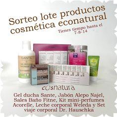 DazaNatura. Blog sobre cosmética natural y biológica. Marcas y productos. : Sorteo de un lote de productos de cosmética econat...