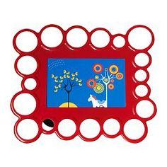 OLSBO Frame - red - IKEA