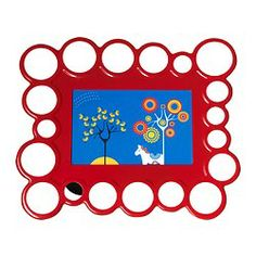 OLSBO Frame - red - IKEA $4.99