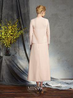 A-Line/Princess Sleeveless Straps Chiffon Knee-Length Mother of the Bride Dresses