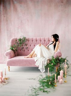 A Dreamy Bridal Shoot We Can't Take Our Eyes Off Of | Photography: Momento Cativo