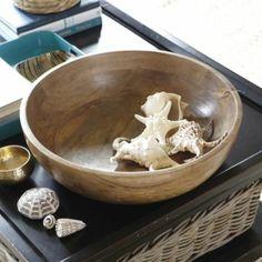 Mango Wood Bowl  | Ballard Designs