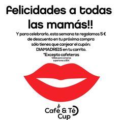 #felizdiadelamadre Celebra el día de la madre con nosotros, te regalamos 5€.