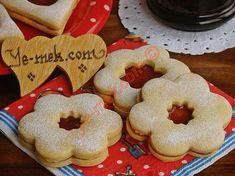 Almanların en güzel kurabiyelerinden... Marmelattlı kurabiye olarak da bilinir... Tadı, sunumu oldukçada güzeldir...