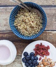 quinoa fraise petit déjeuner vegan recette