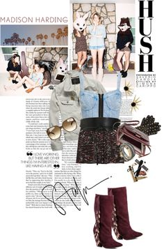 """""""Killer Booties"""" by ashley-rebecca ❤ liked on Polyvore"""