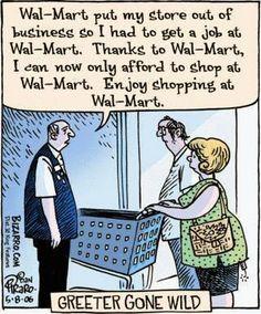Walmart Greeter Gone Wild