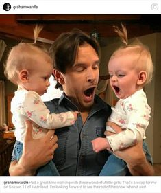 Graham Wardle Had a great time working with these wonderful little girls! Heartland Georgie, Heartland Season 11, Watch Heartland, Heartland Quotes, Amy And Ty Heartland, Heartland Ranch, Heartland Tv Show, Heartland Actors, Ty Y Amy