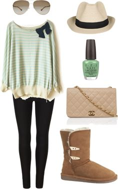 """Tres Mint"" by midnight-fire-love on Polyvore"