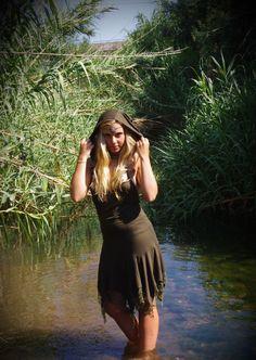 Pixie Dress- Elven Dress - Fairy Dress - Burning Man Dress - Forest Dress - Elf Dress - Pointy Dress - Hooded Dress  - Faerie Clothing by Kalbelia on Etsy https://www.etsy.com/listing/479400066/pixie-dress-elven-dress-fairy-dress