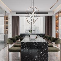 无题 - 原创作品 - 站酷(ZCOOL) Apartment Interior Design, Dining Table Chairs, Shops, Furniture Decor, Kitchen Dining, Architecture Design, Restaurant, Living Room, Canteen