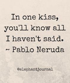 Kiss me. @elephantjournal