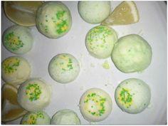Lemon Lime DIY Bath Bombs
