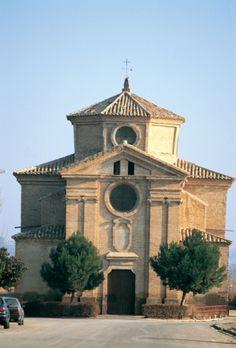 Pastriz. Zaragoza (Spain). Ermita de santa Ana