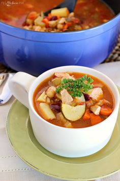 Turkey Vegetable Soup | Community Post: 19 Thanksgiving Leftover Ideas That Aren't Sandwiches