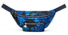 !!!Gürteltasche Desigual Rino Camoflower Coira Nautival blue blau Marken Logo, Fanny Pack, Fashion, Silver, Bags, Blue, Hip Bag, Moda, Fashion Styles
