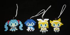 Hama- Vocaloid Charms Collection 1 by Charlotte-Chan