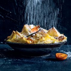 Lemon curd bread-and-butter pudding South African Dishes, South African Recipes, Kinds Of Desserts, Just Desserts, Pudding Desserts, Dessert Recipes, Bread And Butter Pudding, Piece Of Bread, Lemon Curd