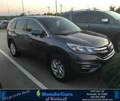 https://flic.kr/p/H4y9MS | Congratulations Kathy on your #Honda #CR-V from Chris Collyer at Honda Cars of Rockwall! | deliverymaxx.com/DealerReviews.aspx?DealerCode=VSDF
