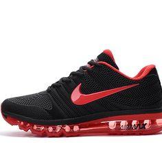 Nike Air Max 2017 Black Red Women Men Shoes