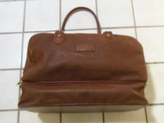 Vegan Leather Weekender Overnight Travel Bag Unisex Faux Leather Suede 19 inches