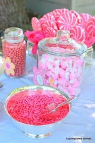pink candy buffet  Candy, Gumballs & Chocolates available at candymachines.com Use code PIN for a 10% discount on your entire order