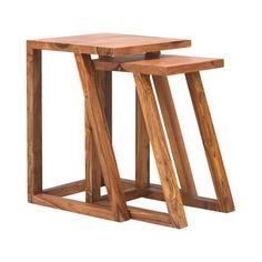 Quad Nesting Tables - Set of 2 | dotandbo.com