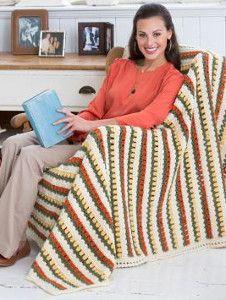 Tulip Lane Crochet Afghan Pattern | AllFreeCrochetAfghanPatterns.com