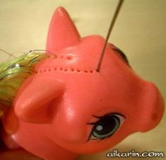 Aikarin.com - Custom Pony Tutorial - rerooting/rehairing