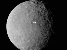 NASA pic ... The dwarf planet Ceres, taken by the space agency's Dawn spacecraft, in Febr