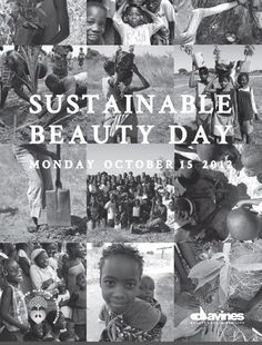 It's Sustainable Beauty Day!  October 15 is Sustainable Beauty Day and salons partnered with Davines will cut and style your hair free when you make a donation of $15 or more. All proceeds will go to The Fruit Tree Planning Foundation, which helps poor communities by planting fruit trees in efforts to alleviate world poverty.    Sustainable Beauty Day 2012 aims to raise $50,000 to fund a fruit tree planting project in Brazil.    http://j.mp/WalYA1