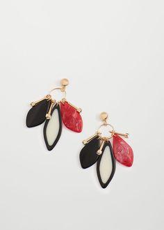 Mixed pieces earrings | MANGO
