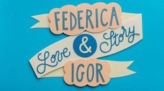 Federica + Igor | Love Story in Paper Cut Stop-Motion in Paper cutout animation on Vimeo