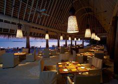 Plates Restaurant - Anantara Kihavah Villas, Maldives