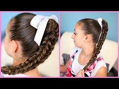 "Box {Four-Sided} #Fishtail #Braid video tutorial!  You can wear it down, or up in the most ""beautiful"" bun! #homecoming #hairstyles"