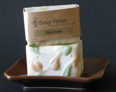 Plain Jane Soap (Unscented) - All Natural Soap, Handmade Soap, Stocking Stuffer,  Vegan Soap, Teacher Gift, Gift for Her, Baby, Gift for Him