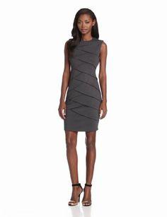 Calvin Klein Women's Ponti Sheath Dress