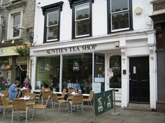 Auntie's Tea Shop, Cambridge, UK - favorite place to have tea in Cambridge!