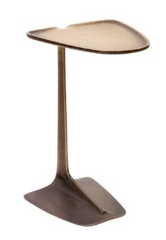 small bronze end table -Aaron Silverstein Coffee Table To Dining Table, C Table, Corner Table, Funky Furniture, Accent Furniture, Table Furniture, Furniture Design, Small Tables, End Tables
