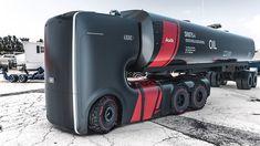 Camion futuriste