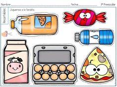 Food Clips, Go Math, Kids Learning Activities, Calendar 2020, Crafts For Kids, Preschool, Doodles, Teacher, Classroom