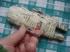 W.I.P | papier mache art doll with movable arms. | Joy Williams | Flickr