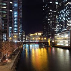 when they say it will feel like 2 degree, they were so not wrong ;) #SuperDuper #Cold #Chiberia #ExtremeCold #WindyCity #Chicago #ChicagoRiver #MerchandiseMart #CityLights #ChicagoLoop #Pretty #Reflection #HappyTuesday #Wimter2016