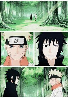 naruto shippuden final anime chapter 479 . Naruto / Sasuke (final del manga)