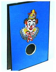 Vintage Bean Bag Toss Game Painted Clown By Sportcraft