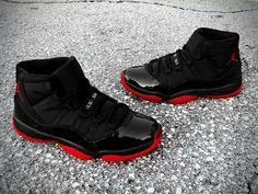 Nike Air Jordan 11XI BredPlayoffs Shoes#Sneakers#