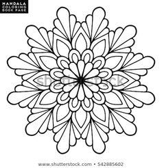 Lovely Mandala'in Stok Fotoğraf ve Görsel Koleksiyonu Mandala Art, Mandala Design, Mandala Drawing, Mandala Painting, Mandala Pattern, Dot Painting, Pattern Art, Flor Oriental Tattoo, Motif Oriental