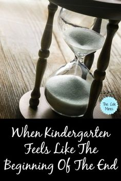 When Kindergarten Feels Like The Beginning Of The End